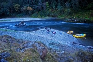 Rogue River rafting and camping