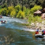 Floating through the Lower Kern canyon