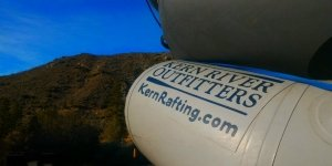 Kern River Outfitters logoed boats