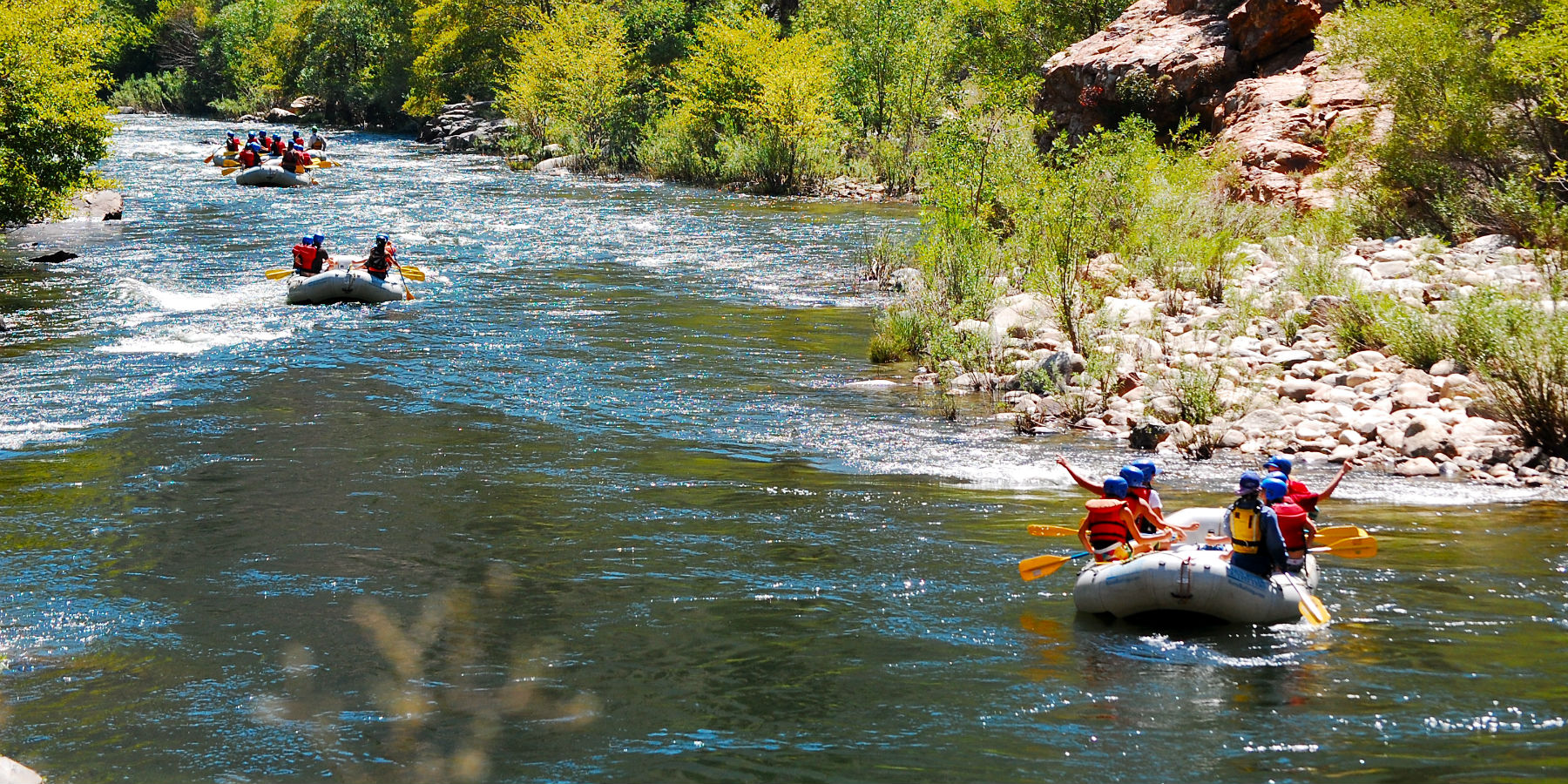 Rafting on the Upper Kern