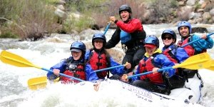 Upper Kern smiling raft and guide