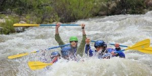 Upper Kern paddles up