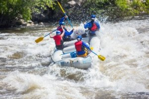Lower Kern River Rafting