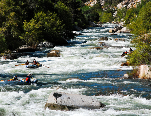 The longest rapids on the Kern River