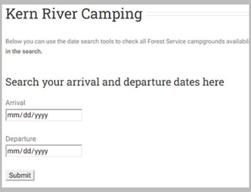 We built a campground availability tool